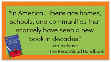 Quote from The Read-Aloud Handbook by Jim Trelease #preschool #parents #teachers #literacy
