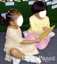 girls reading together