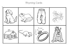 how to teach rhyming words to preschoolers