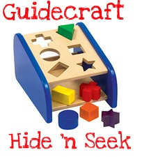 guidecraft shape sorter puzzle