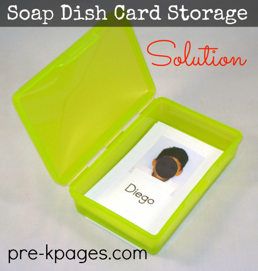 soap dish card storage