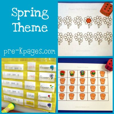 spring theme in preschool