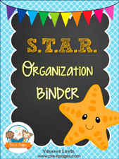 STAR Binder: Printable Parent Communication Notebook for #preschool and #kindergarten