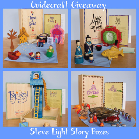 Steve Light Story Boxes from Guidecraft