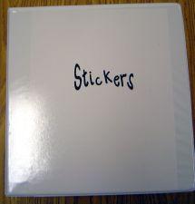 sticker storage