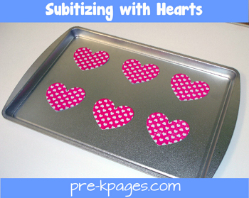 subitizing hearts