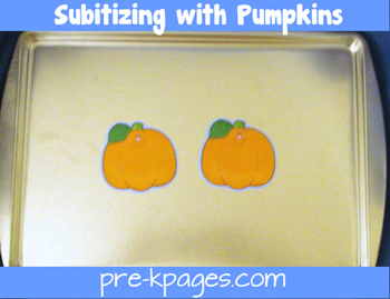 subitizing pumpkins