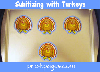 subitizing turkeys