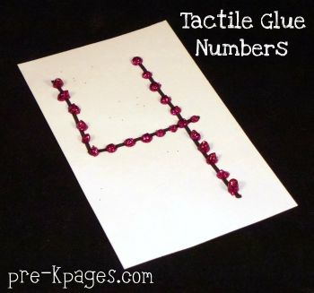tactile methods for teaching numbers in preschool