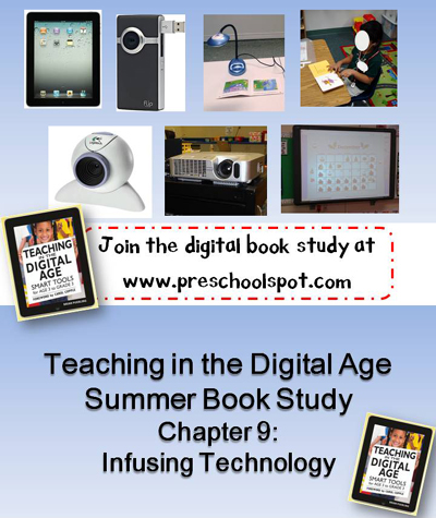 Teaching in the Digital Age book study Chapter 9 Infusing Technology