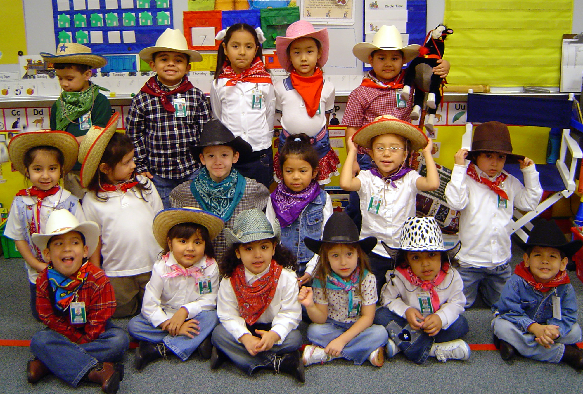 Classroom Dress Up Ideas ~ Printables for western theme