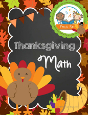 thanksgiving math packet