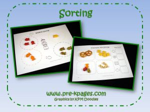 thanksgiving sorting activity