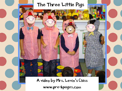 three little pigs digital storytelling video