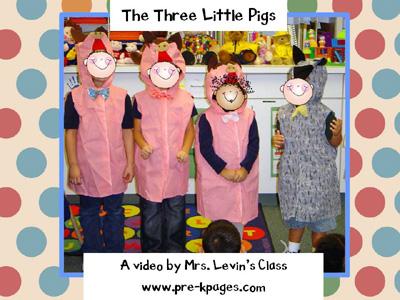 three little pigs digital storytelling video