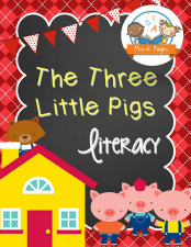 Three Little Pigs Literacy Activity Packet