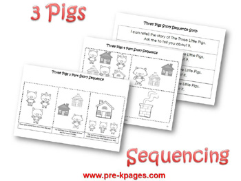 three little pigs preschool activities. Black Bedroom Furniture Sets. Home Design Ideas