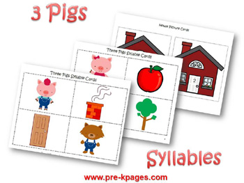 Syllable activity for The Three Little Pigs