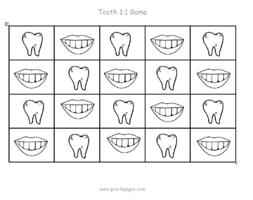 tooth one to one