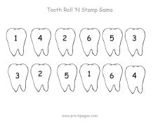 tooth roll stamp