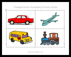 transportation vocabulary