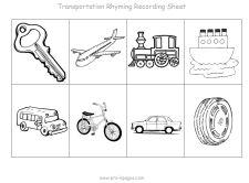 transportation recording sheet