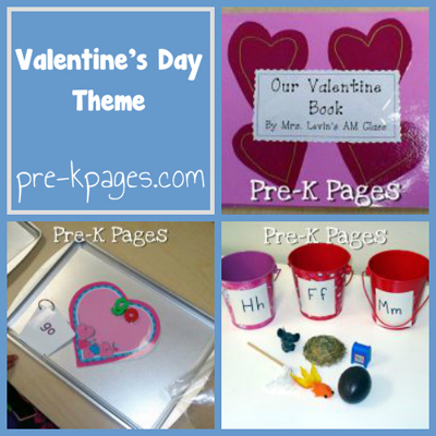 Valentine's Day Theme in Preschool