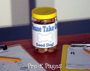 vet clinic pet treats
