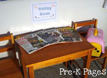 vet waiting room