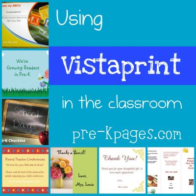 vistaprint ideas for the classroom