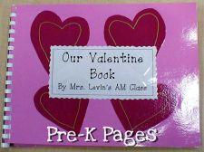 Valentine Book front