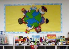 Wonderful World Bulletin Board