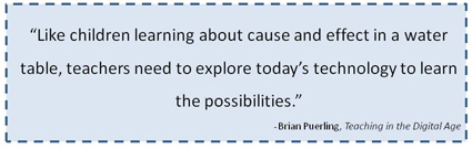 teachers need to explore technology quote