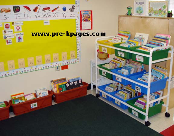 Vpk Classroom Ideas ~ Classroom library center in preschool pre k and kindergarten