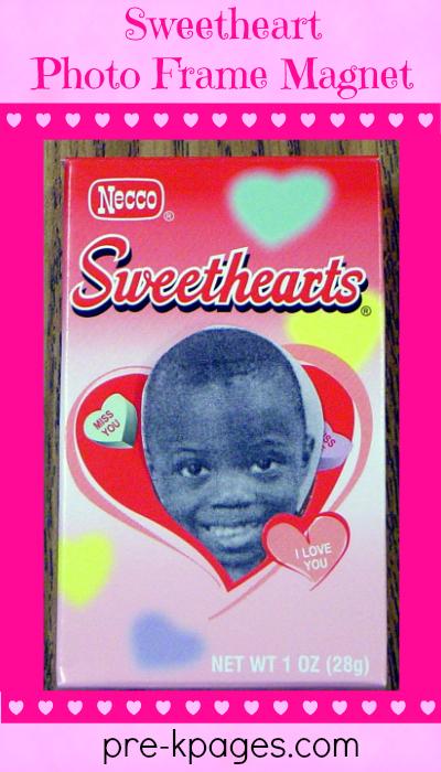 Sweetheart Photo Frame Magnet Tutorial