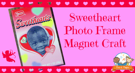 Sweetheart Photo Frame Magnet