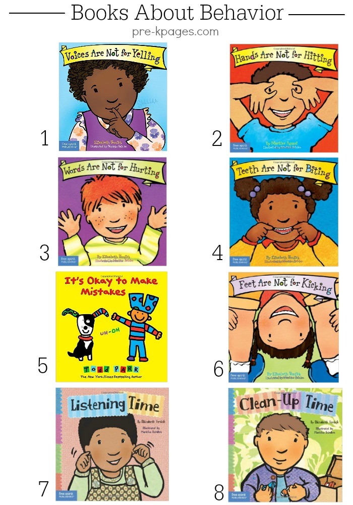 Behavior Books for Preschool