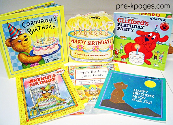 Birthday Books for Preschool
