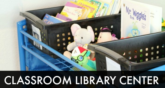 Preschool Classroom Library Center