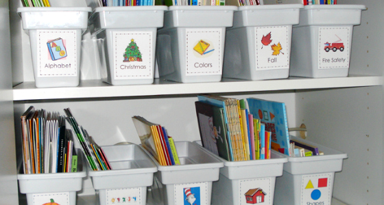 Classroom Organization Ideas For Kindergarten ~ Classroom organization and storage tips