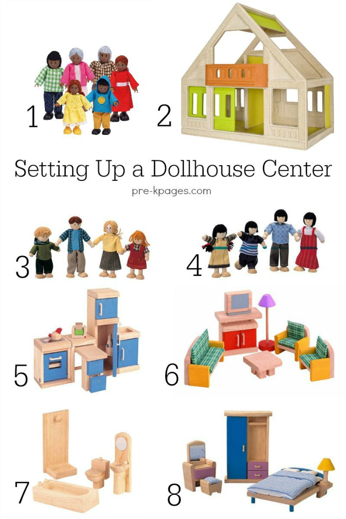 Doll House Center in Preschool