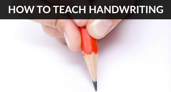 How to Teach Handwriting Skills in Preschool