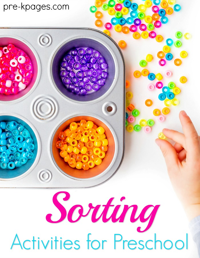 How to Teach Kids to Sort in Preschool