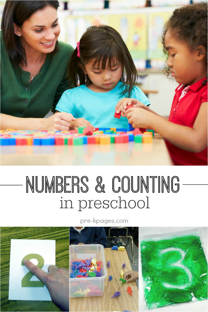 Teaching Numbers and Counting in Preschool and Kindergarten