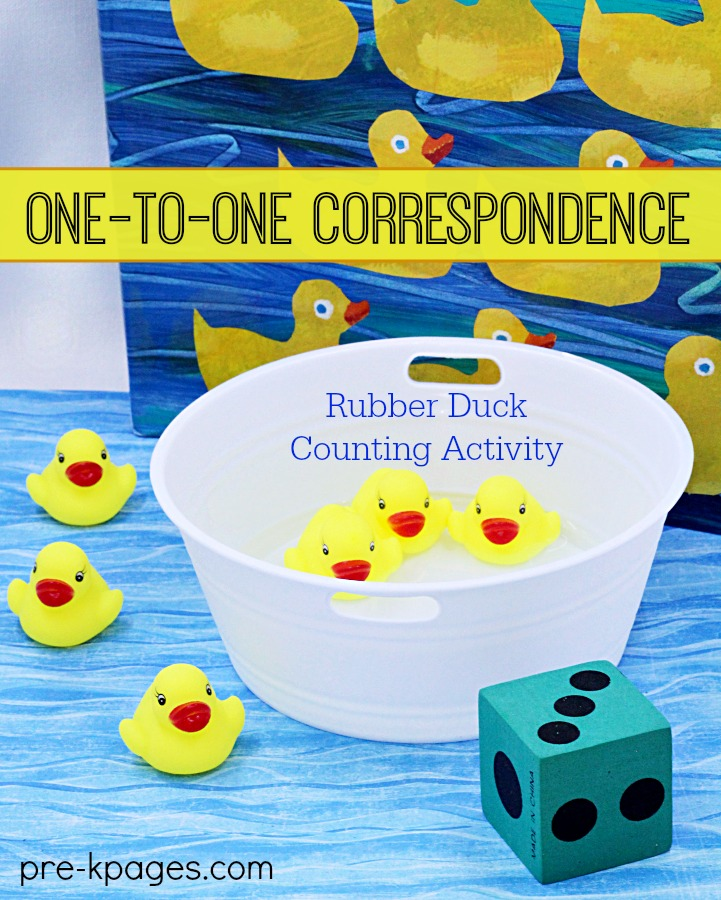One to One Correspondence Duck Counting Activity
