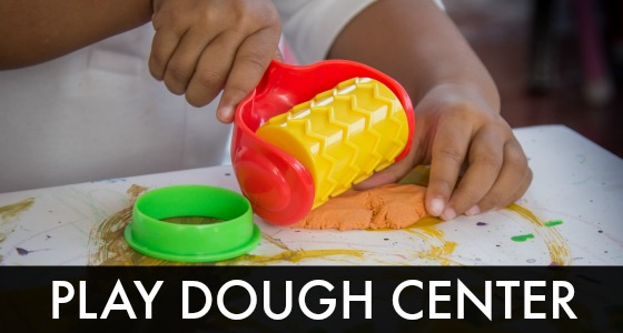 Preschool Playdough Center