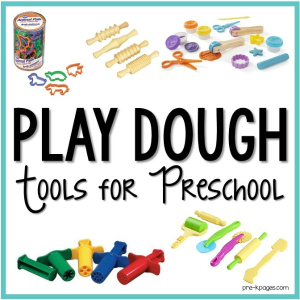 Play Dough Tools for Preschool