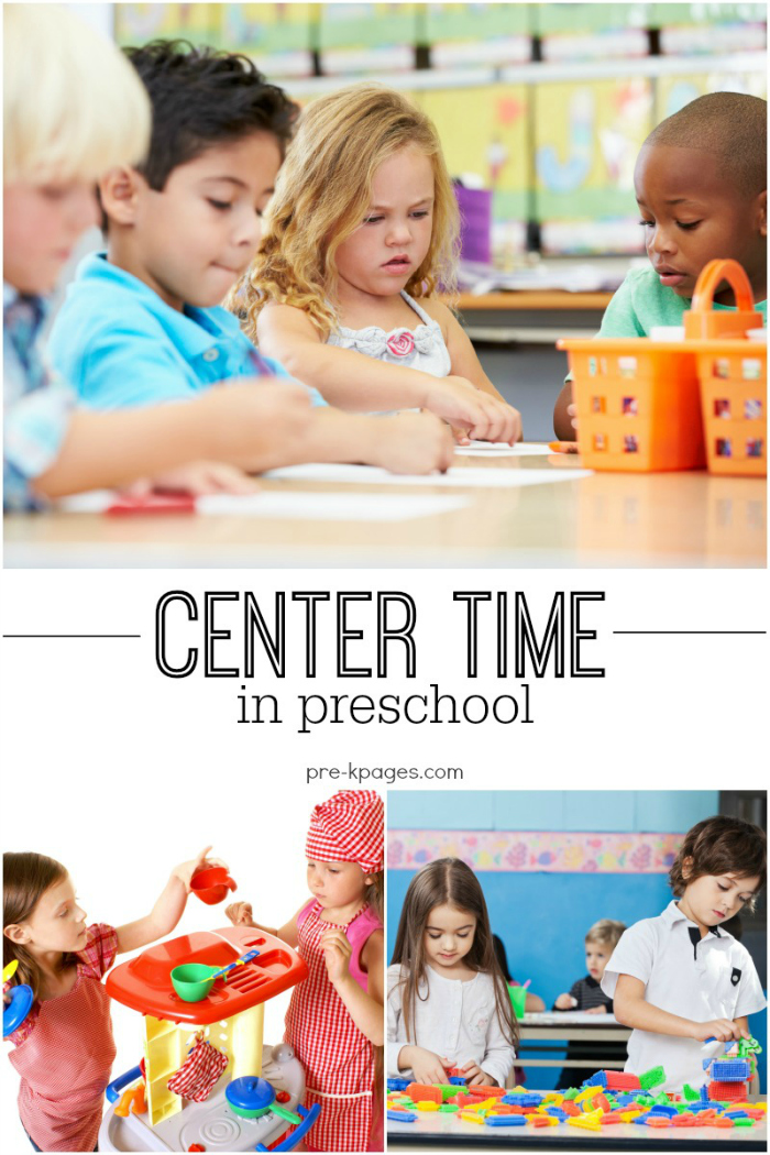 How to Manage Centers in Preschool