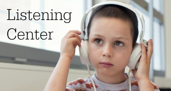 Preschool Listening Center