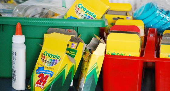 Classroom Newsletter Ideas ~ School supply list for pre k and preschool
